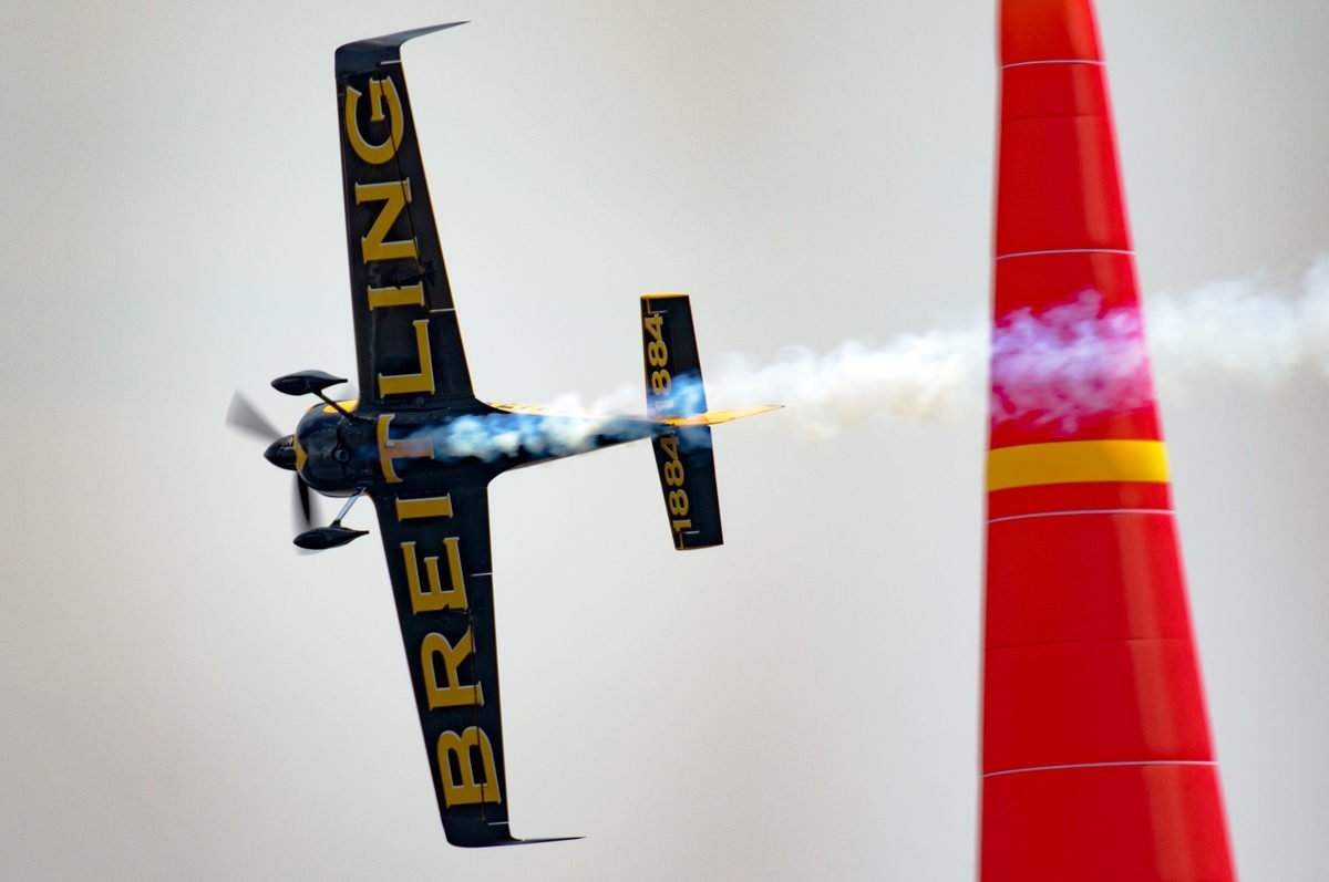 Working with Red Bull Air Race World Champion Nigel Lamb